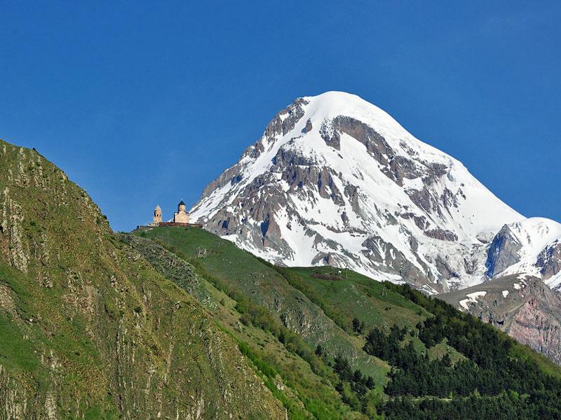 Горы казбек картинки